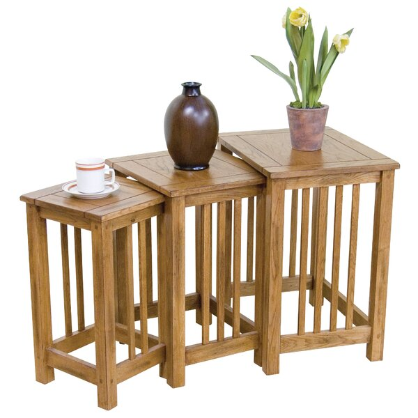 Fresno 3 Piece Nesting Tables By Loon Peak Top Reviews