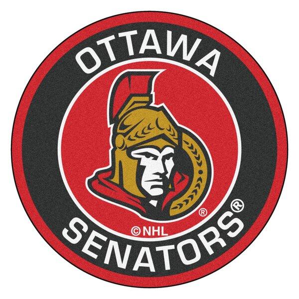 NHL Ottawa Senators Roundel Mat by FANMATS