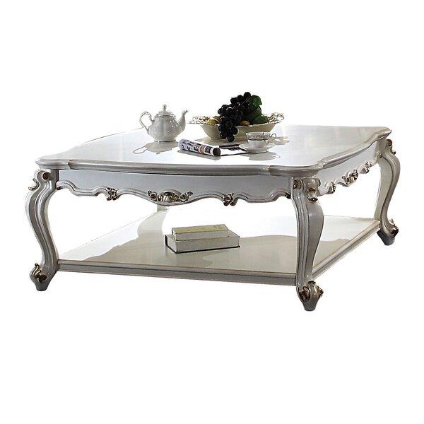 St George Floor Shelf Coffee Table By Astoria Grand