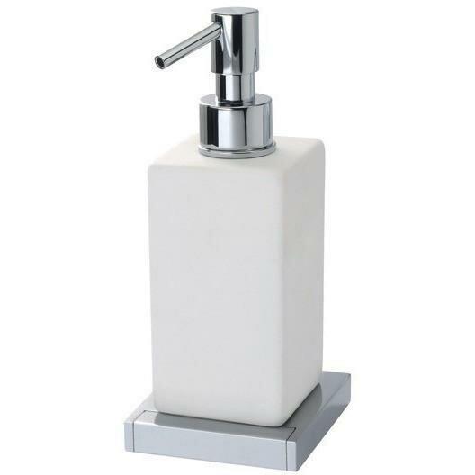 Skipper Wall Mounted Ceramic Pump Soap & Lotion Dispenser by Orren Ellis