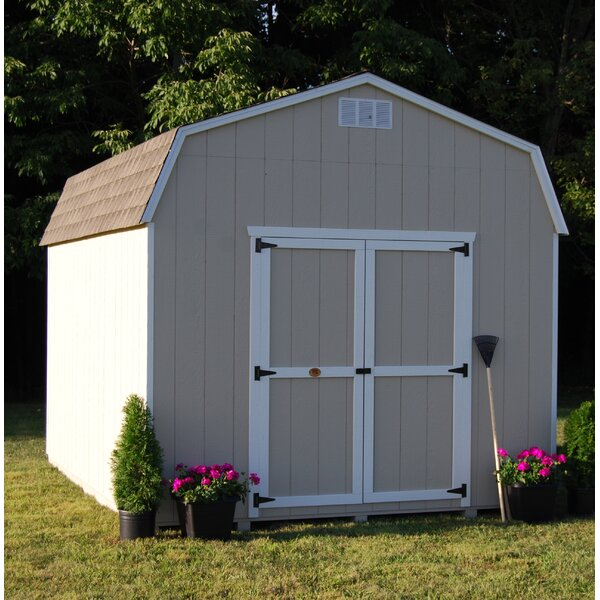 Value Precut Kit Solid Wood Storage Shed by Little Cottage Company