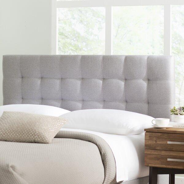Decker Upholstered Panel Headboard by Ebern Design