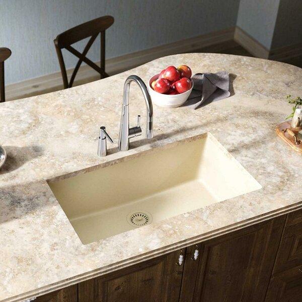 Quartz Classic 33 x 18 Undermount Kitchen Sink by Elkay