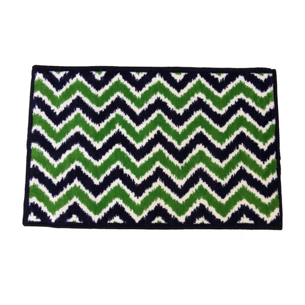 Mix N Match Navy / Green Area Rug by Bacati
