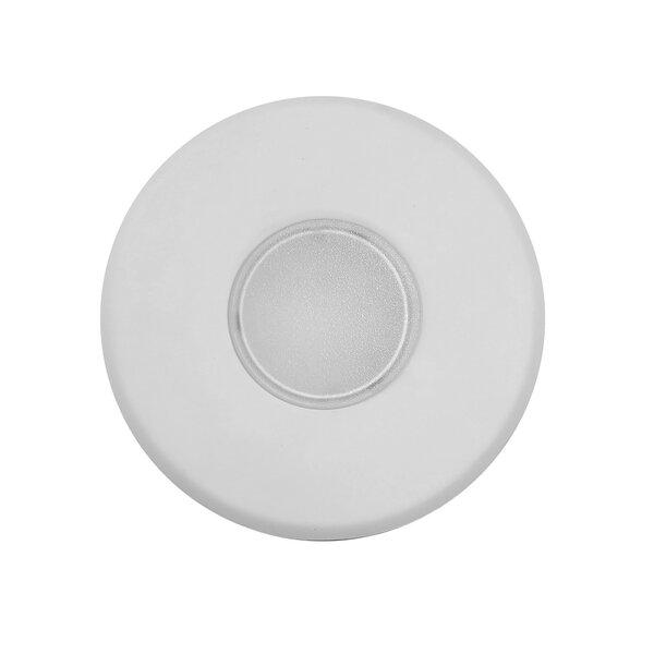 SureFit Round Ultra Slim Surface Mount LED Downlight 5.25 Shower Recessed Trim by NICOR Lighting