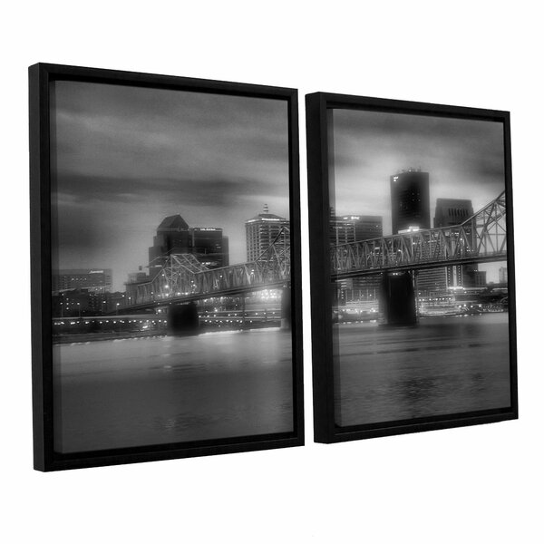 Gritty City by Steve Ainsworth 2 Piece Framed Photographic Print Set by ArtWall