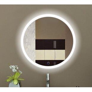 Affordable Rieves LED Lighted Wall Mirror ByOrren Ellis