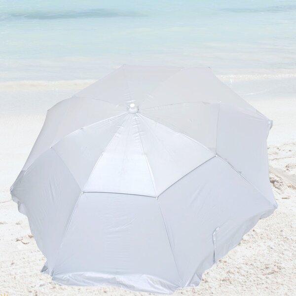 6' Beach Umbrella by Solar Guard Solar Guard