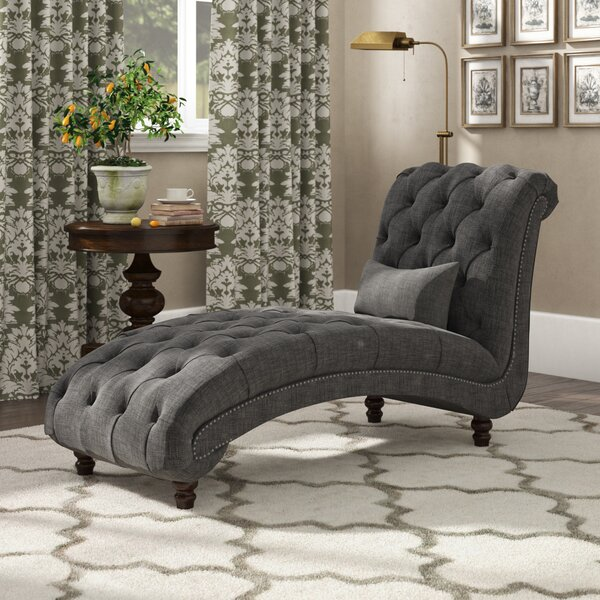 Gowans Chaise Lounge by Three Posts