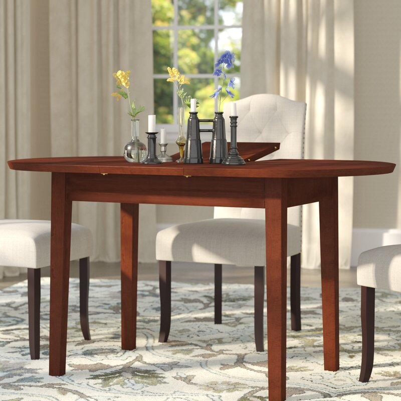 andover mills antora butterfly extendable dining table & reviews Butterfly Dining Table