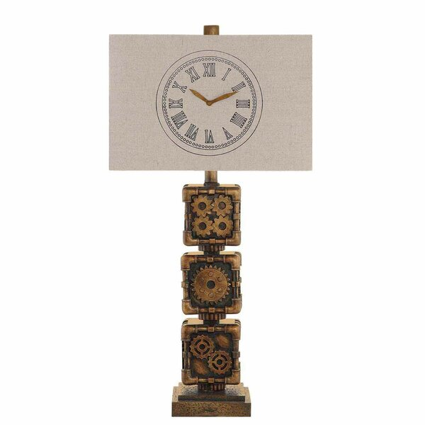Clockworking 29 Buffet Lamp (Set of 2) by Crestview Collection