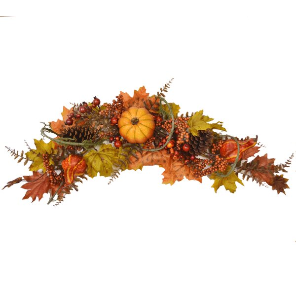 Fall Harvest Swag by Floral Home Decor