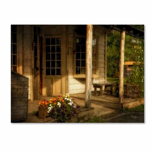 The Old General Store by Lois Bryan Photographic Print on Wrapped Canvas by Trademark Fine Art