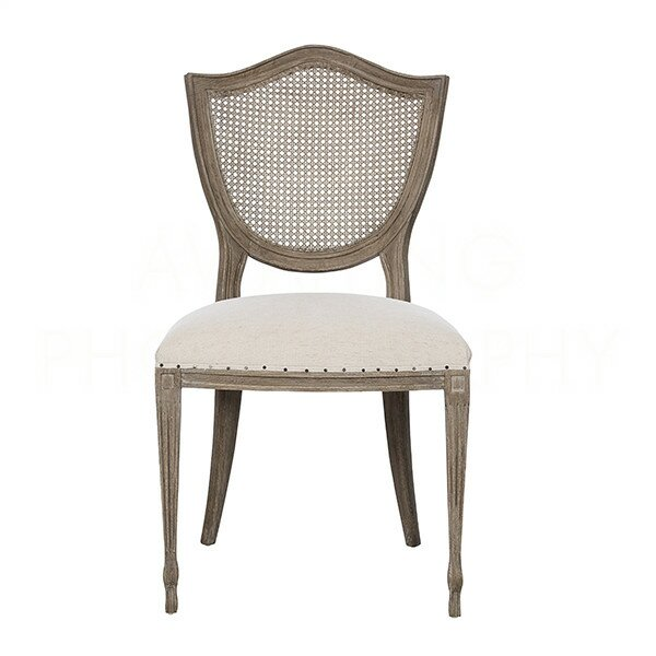 Shield Solid Wood Dining Chair