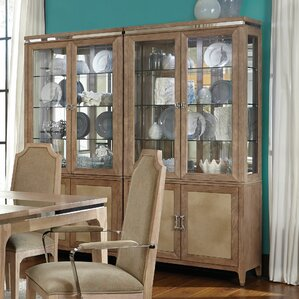 Biscayne West Lighted China Cabinet by Michael Amini (AICO)