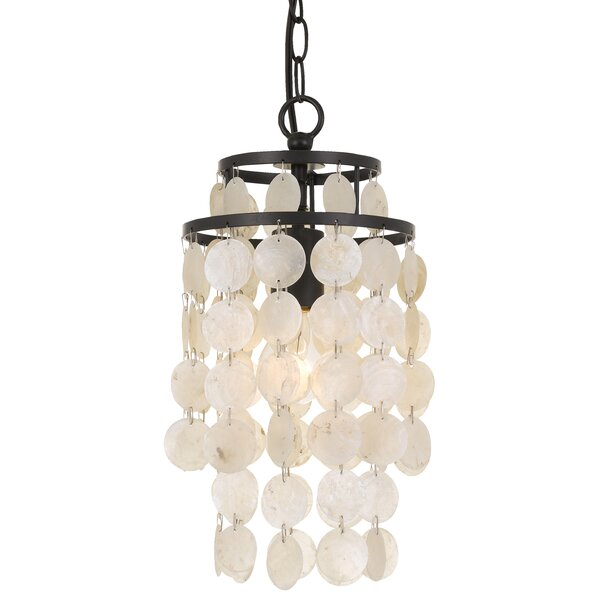 Gaiser 1-Light Mini Chandelier by Highland Dunes