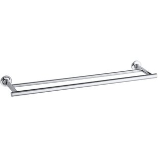 Find Purist Double 24 Wall Mounted Towel Bar ByKohler