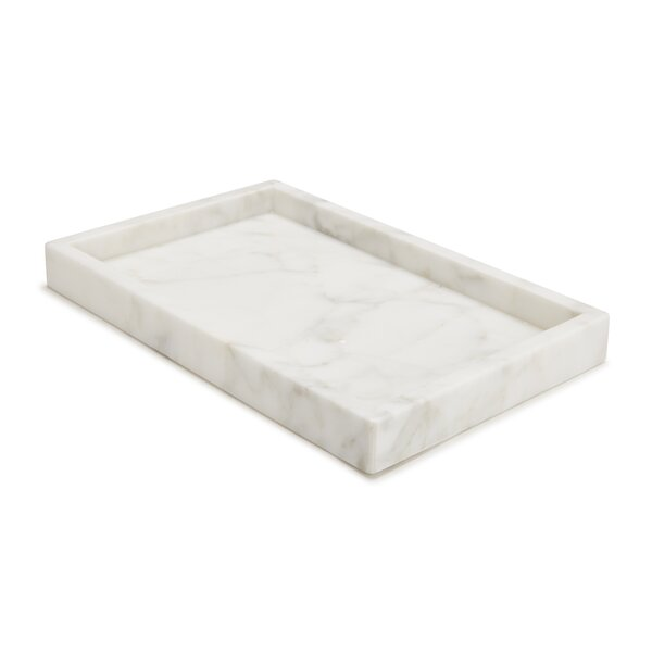 Marmol Bathroom Accessory Tray by Kassatex Fine Linens