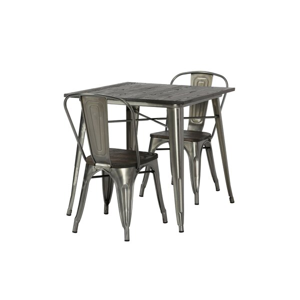 Pullman 3 Piece Dining Set by Trent Austin Design