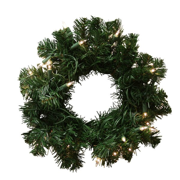 Deluxe Windsor Pine Artificial Christmas Wreath by Tori Home
