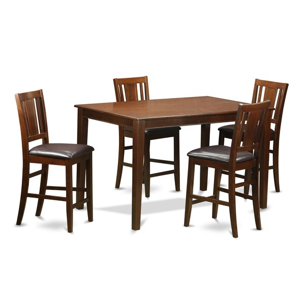 Dudley 5 Piece Dining Set by Wooden Importers