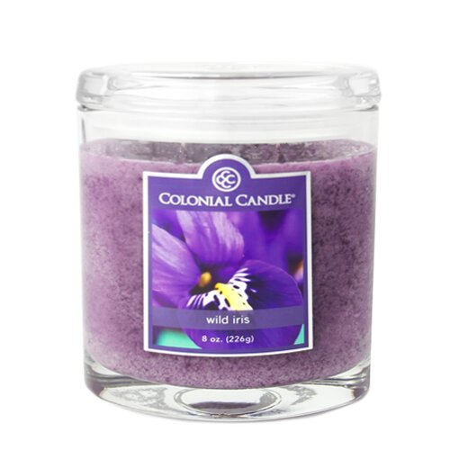Wild Iris Jar Candle by Colonial Candle