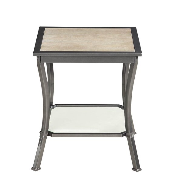Cockrell Hill End Table by Fleur De Lis Living
