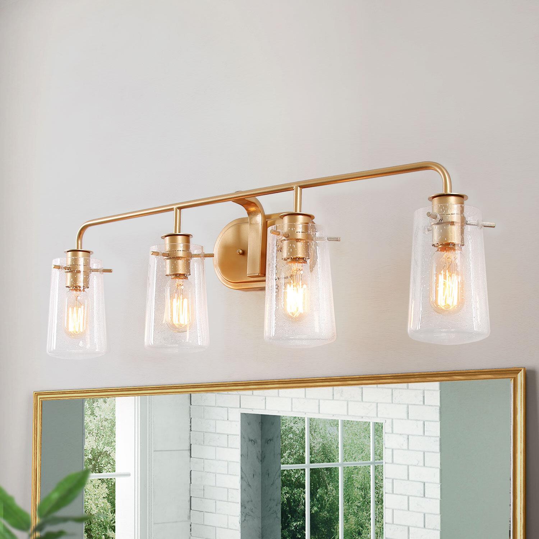Mercer41 Paulis 4 Light Vanity Light Reviews Wayfair