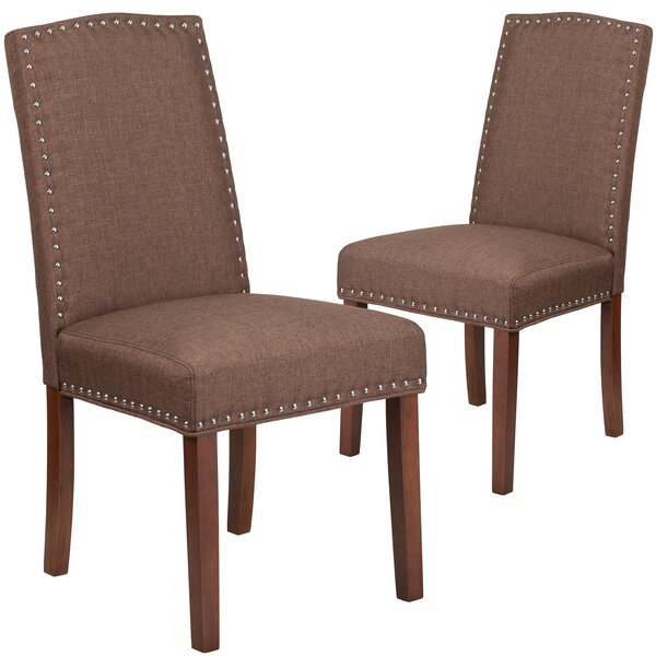 Orland Upholstered Dining Chair (Set of 2) by Charlton Home Charlton Home