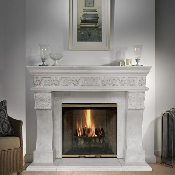 President Churchill Fireplace Surround by Historic Mantels Limited