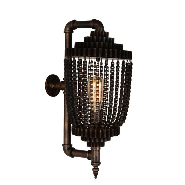 Alyshia 1-Light Armed Sconce by 17 Stories