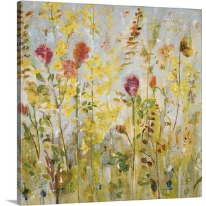 'Spring Medley' by Jill Martin Painting Print on Canvas by Canvas On Demand
