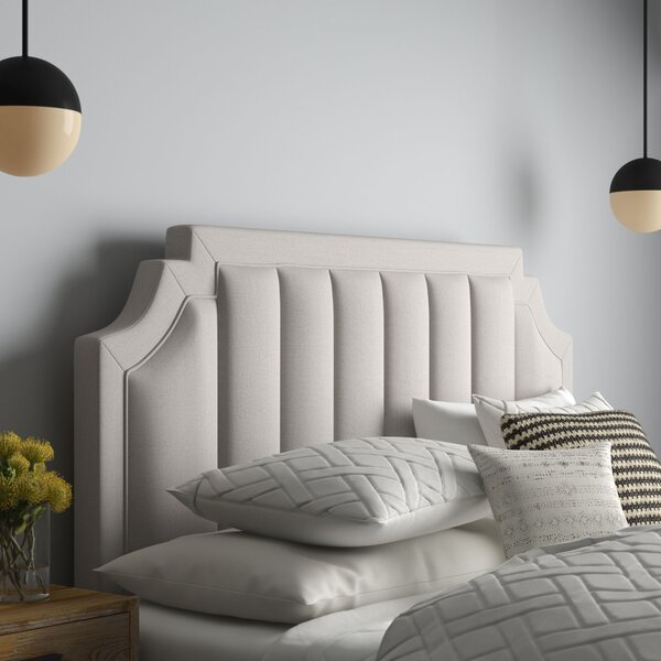 Becket Upholstered Panel Headboard by Everly Quinn