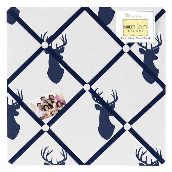 Woodland Deer Wall Mounted Photo Memo Board by Sweet Jojo Designs