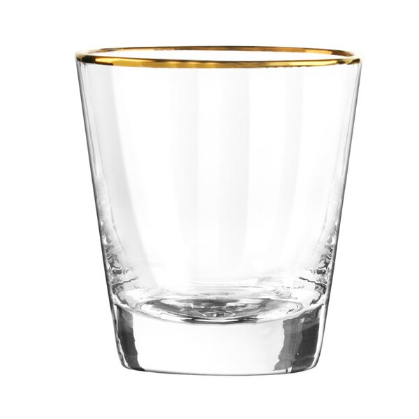 Dominion Double Old Fashioned Glass (Set of 4) by Qualia Glass