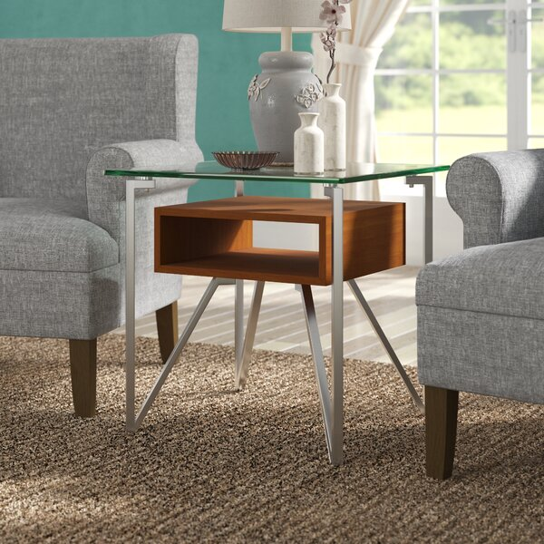 Vihaan End Table by Wade Logan