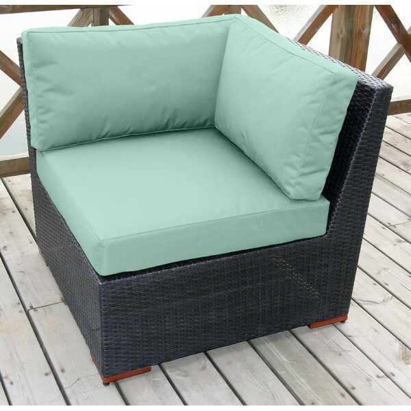 Scholtz Corner Sectional Chair with Cushions by Bay Isle Home