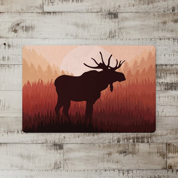 Edinburg Moose Horizon Kitchen Mat