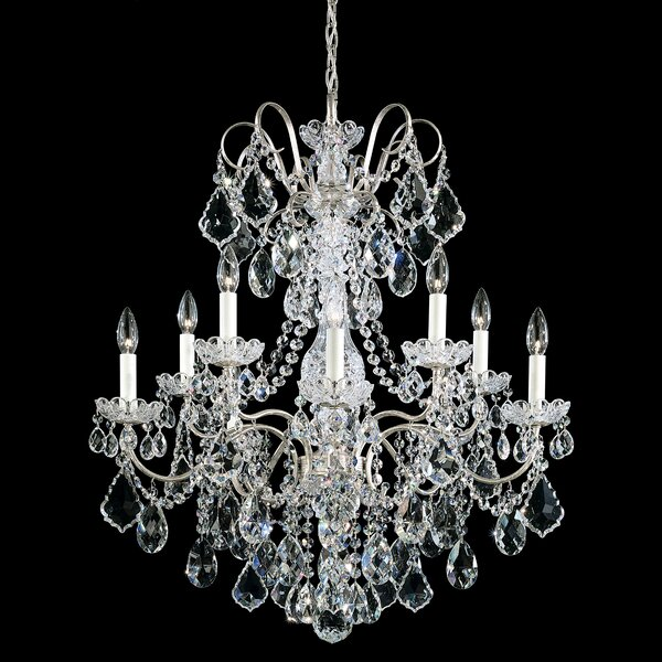 New Orleans 10-Light Candle Style Classic / Traditional Chandelier by Schonbek Schonbek