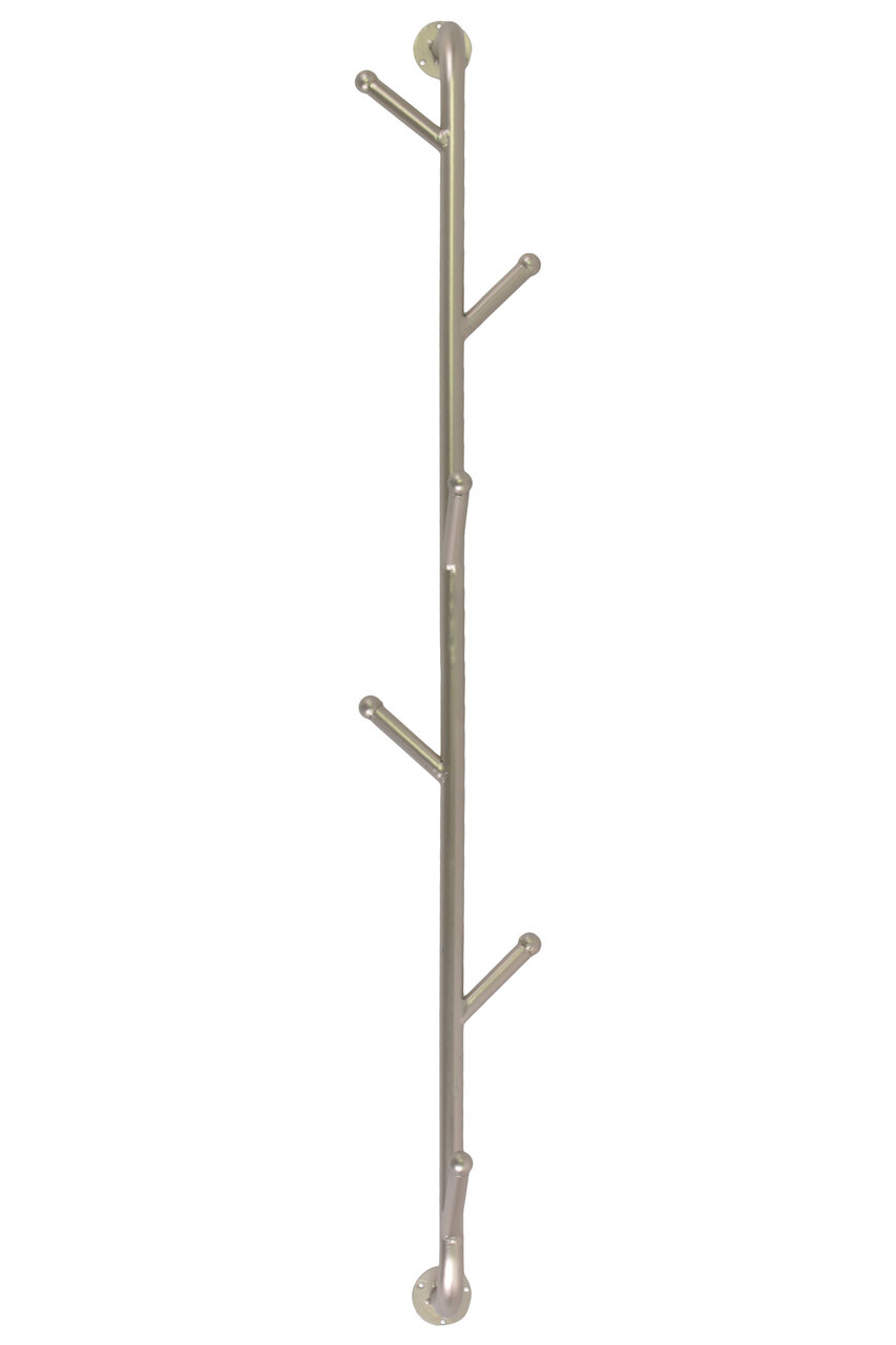 dcd36e0ba7fad Winston Porter Kirbyville Metal Wall Mounted Coat Rack