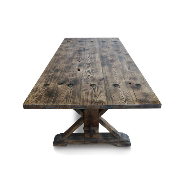 Konnor Solid Wood Dining Table by Gracie Oaks