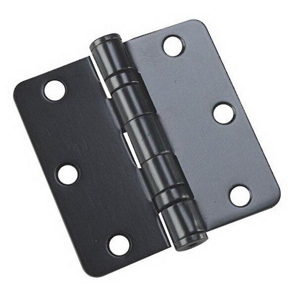 3.5 H x 3.5 W Butt/Ball Bearing Pair Door Hinges (