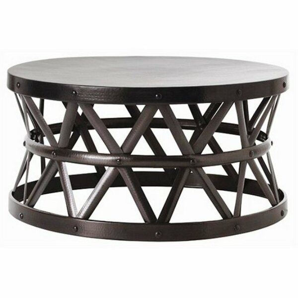 Hammered Coffee Table by Fashion N You by Horizon Interseas