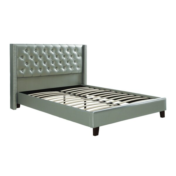 Desideria Upholstered Panel Bed by House of Hampton