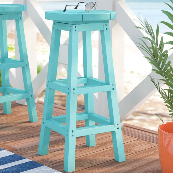 William 30-inch Patio Bar Stool By Beachcrest Home