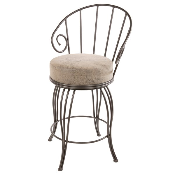Chupp 30 Swivel Bar Stool by Fleur De Lis Living