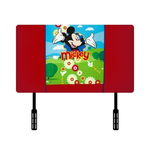 Disney Mickey Mouse Clubhouse Twin Upholstered Headboard by Kidz World