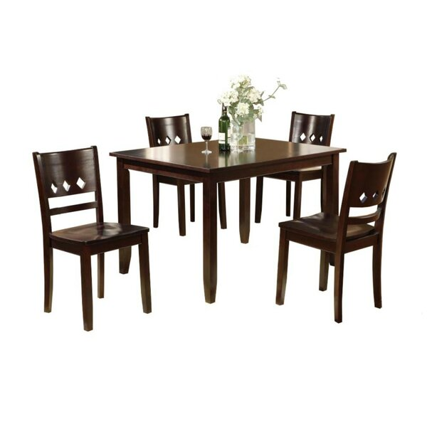 Pariaman 5 Piece Dining Set by Winston Porter