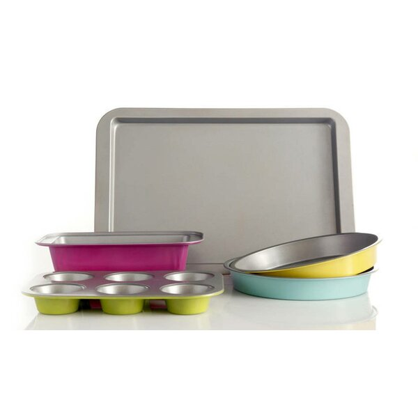 5 Piece Non-Stick Bakeware Set by Imperial Home
