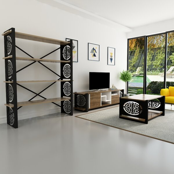 Schexnayder Entertainment Center by World Menagerie